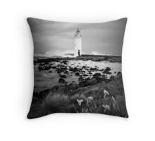 Port Fairy Lighthouse, Victoria, Aust Throw Pillow