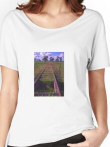 old railway tracks Women's Relaxed Fit T-Shirt