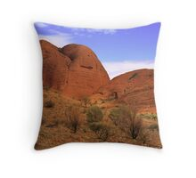 Kata Tjuta - Valley of the Winds Throw Pillow
