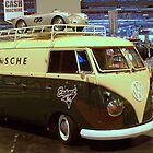 VW Type 2 Panel Van at Autosport show Bermingham by Richard Scott
