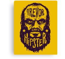 Hipster Trevor Canvas Print