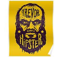 Hipster Trevor Poster