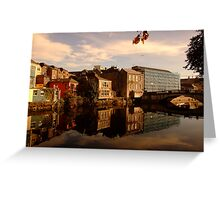 Reflections of Cork Greeting Card