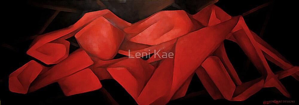Passion's Red  by Leni Kae