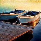 Two Boats by Annette Blattman