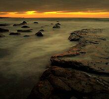 Sunset Lahinch, C.o. Clare Ireland by Richard Scott