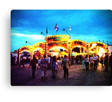 Take me out to the fair Canvas Print