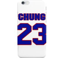 National football player Patrick Chung jersey 23 iPhone Case/Skin