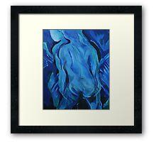 Blue Nude Framed Print