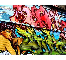 Dublin Street Art Photographic Print