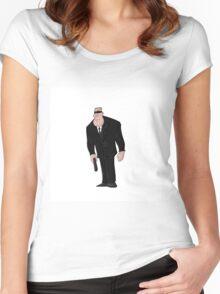 Special Agent Ezekiel Brazinski Women's Fitted Scoop T-Shirt