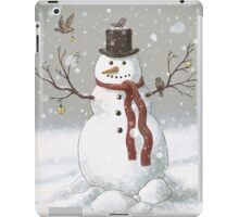 Christmas Snowman iPad Case/Skin