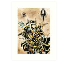 Elven Archer Art Print
