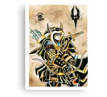 Elven Archer Canvas Print