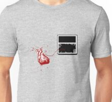 Broken Heart Theory (After Banksy) Unisex T-Shirt