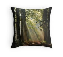 In the enchanted forest Throw Pillow