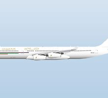 Wings In Uniform - A340 - Gulf Air by nADerL