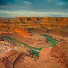 Dead Horse Point-Utah- Colorado River by Steve  Taylor