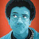 Monochromatic self Portrait by Kyle Schwab