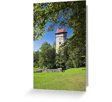 Burg Sponeck Greeting Card