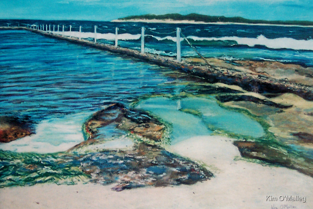 Cronulla Rockpool by Kim O'Malley