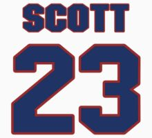 National football player Ed Scott jersey 23 by imsport