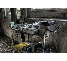Medecine Trolley Photographic Print