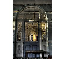 Door to decay Photographic Print
