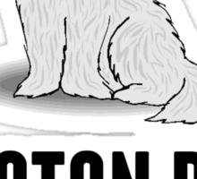 Coton de Tulear Sticker