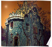 GAUDI BUILDING BARCELONA Poster