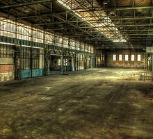 Factory space to let by Richard Shepherd