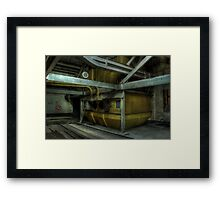 Storage Tanks Framed Print
