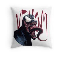 The Venom Symbiote - Spider-Man Throw Pillow