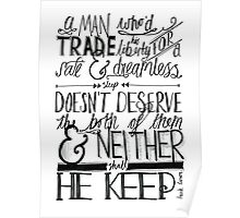 Frank Turner - Sons of Liberty Poster