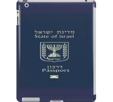 ISRAELI PASSPORT  iPad Case/Skin