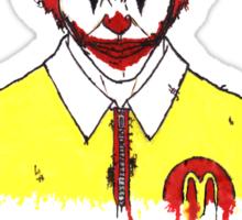 Ronald McJoker Sticker