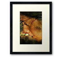 Love you today Framed Print