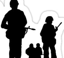 Monday Morning Soldier Sticker