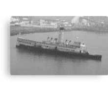 Sunken Ship Canvas Print