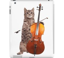 Cello Cat - Meowsicians iPad Case/Skin