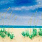 The Beach Beckons by GeorgeBurr