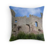 castle walls Throw Pillow