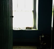 Ireland  door to window by Susan Grissom