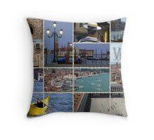 Venice Italy Throw Pillow