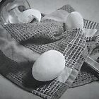 Three Eggs and A Ladle by Kyle Schwab
