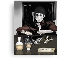 Tony Montana Canvas Print