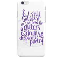 Frank Turner - I Still Believe iPhone Case/Skin