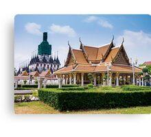Thailand Temples in Bangkok Canvas Print
