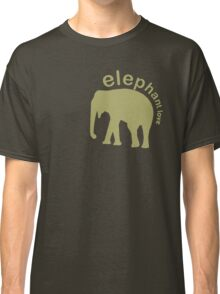 Elephant Luv Classic T-Shirt