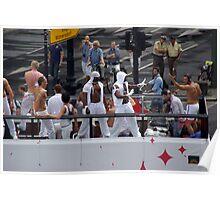 csd in berlin germany - pride parades - gay pride Poster